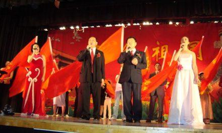 旅美湖南同乡会积极参加十一国庆活动