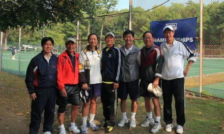 我会副会长仇曦参加纽约华人网球队获东赛区冠军,
