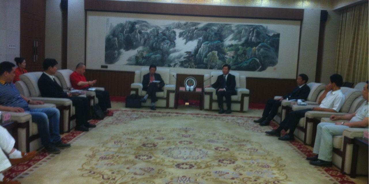 旅美湖南同乡会代表一行参访湖南省政府侨办纪要