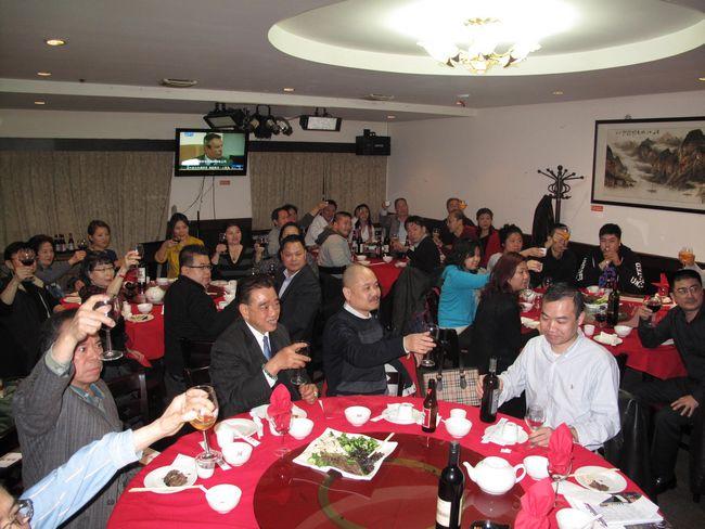 2012年3月17日旅美湖南同乡会举行酬宾春宴